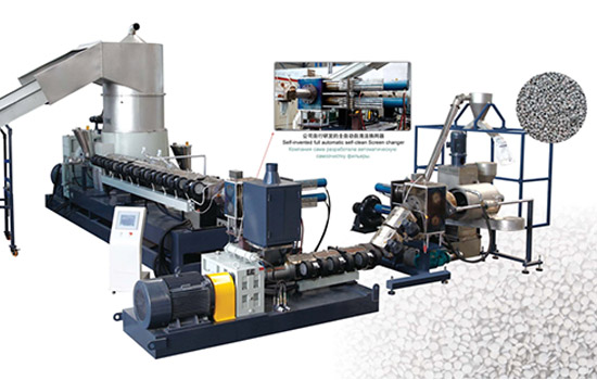 Waste PP PE Film Recycling Granulating Machine – Xinrong