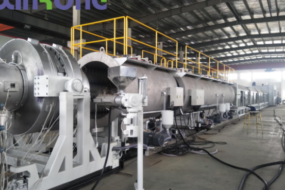 1200mm large diameter solid wall pipe production line