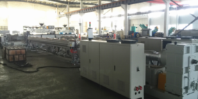hollow wall winding pipe extrusion line