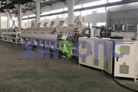 Delivery of Three Pipe Extrusion Lines